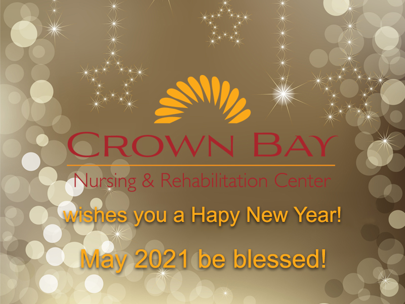 Happy New Year from Crown Bay