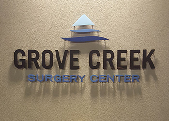 grove creek surgery center sign