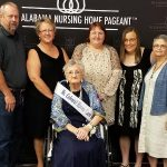 Ms Johnson at Alabama Nursing Home Pageant with Family