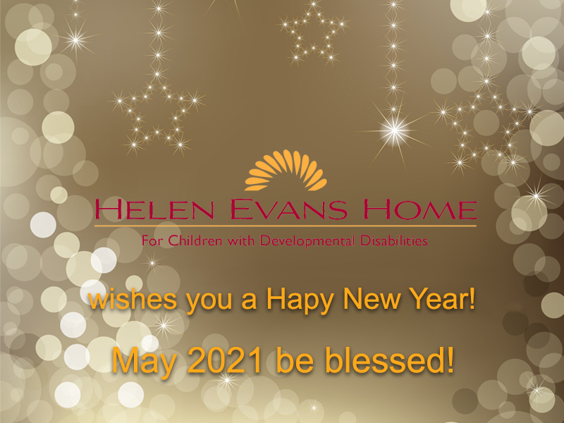 Happy New Year from Helen Evans Home
