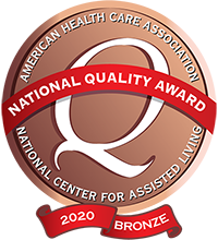 AHCA 2020 Bronze Award