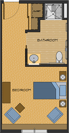 312 sq feet floor plans