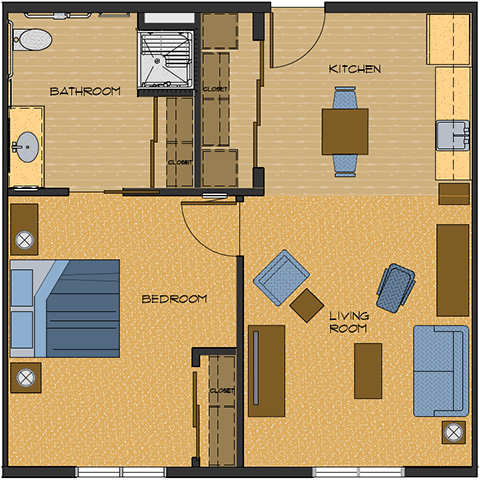 656 sq feet floor plans