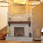 facility living room fire place
