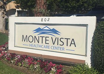 Monte Vista exterior sign