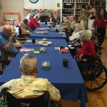 bingo game for residents