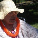 Resident enjoying the Luau