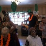 Dancing for the residents