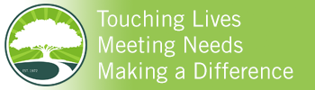 Touching Lives, Meeting Needs, and Making a difference graphic