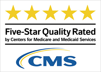 5 star quality rating by CMS