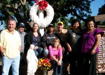 Founding Board from left to right: Jerry Nieblas, David Belardes (deceased), Theresa Nieblas, Gigi Nieblas, Missy Garcia, Nollie Garcia, and Janice Pickartz (seated).