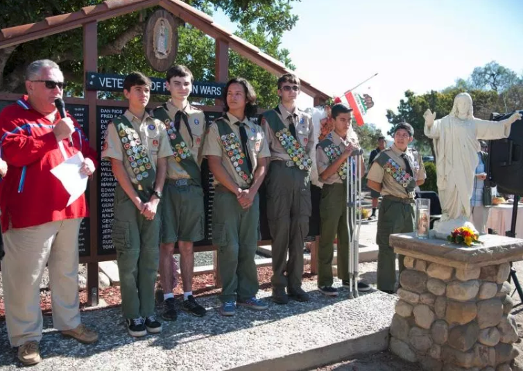 Scouts Upgrade Historic Cemetery