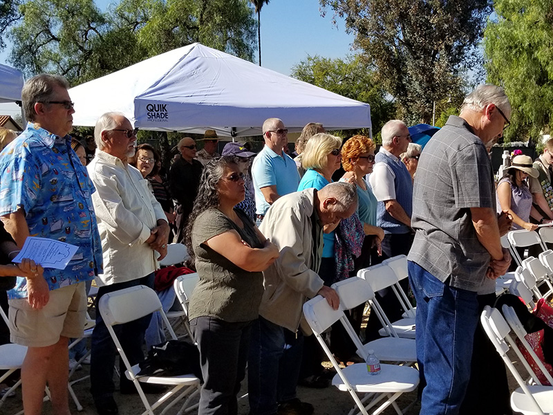 November 10th, 2018 Old Mission Historic Cemetery ninth annual Mass of Remembrance and Gathering