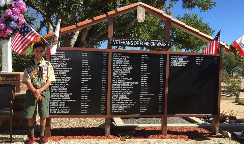 veterans of foreign wars walls