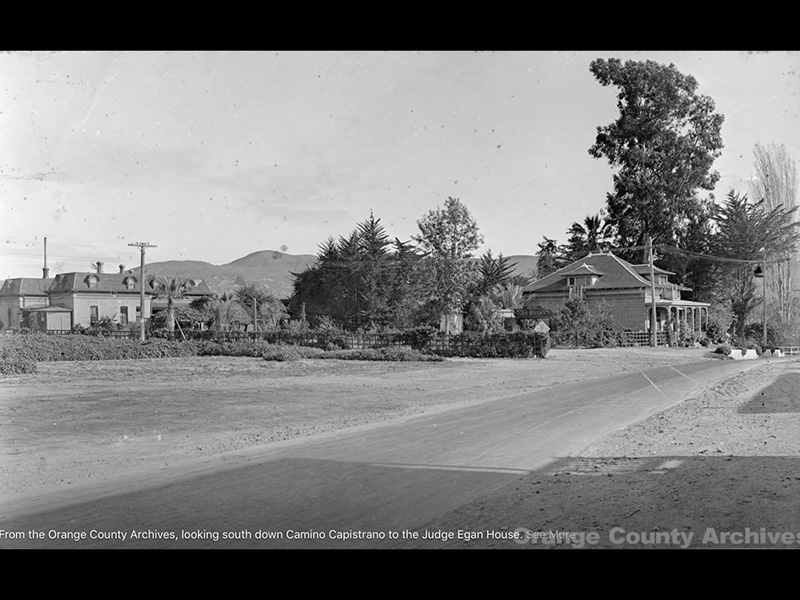 Early 1930s photo of The famous Las Rosas home of Joe and Ventura Garcia Nieblas and sons.