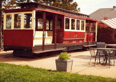Knotts Berry Farm train caboose