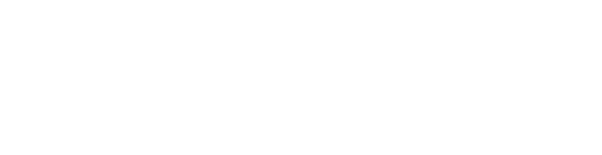 Welcome to Sierra Regency