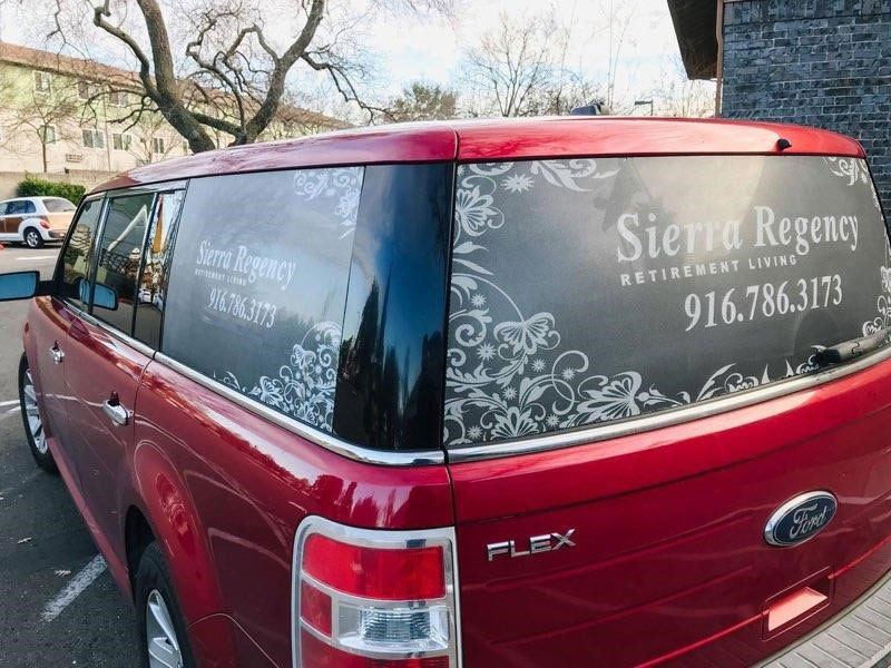 Sierra Regency transportation vehicle