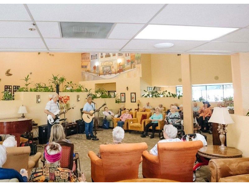 Sierra Regency guitar players entertainment