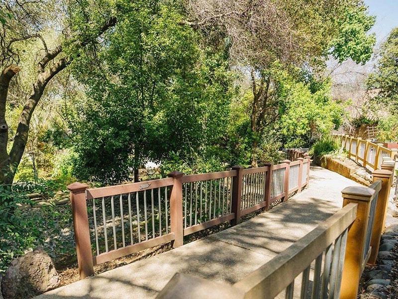 Sierra Regency back walking paths