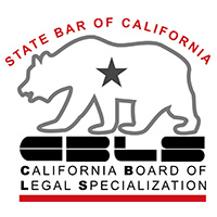 Certified as a Specialist In Estate Planning, Trust & Probate Law by the California Bar achievement logo