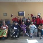 Residents ready for Christmas.