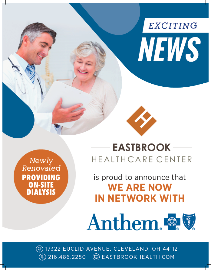 Eastbrook Healthcare Center Is Now In Network With Anthem Blue