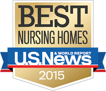Best nursing homes badge 2015