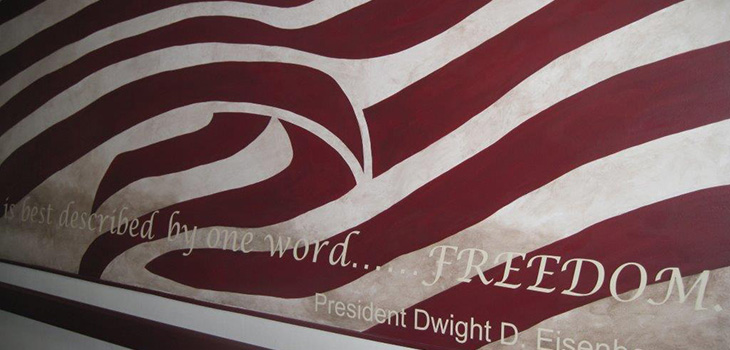 A quote of Dwight D. Eisenhower