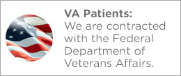 We are contracted with the Federal department of Veterans affairs