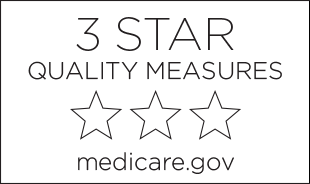 3-star quality measures badge