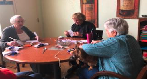 Residents Crafting Together