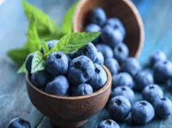 Several Bowls Filled With Blueberries