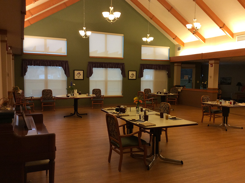 Resident dining room