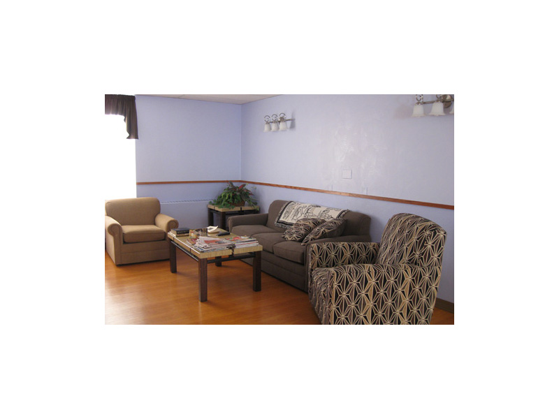 Resident lounge space