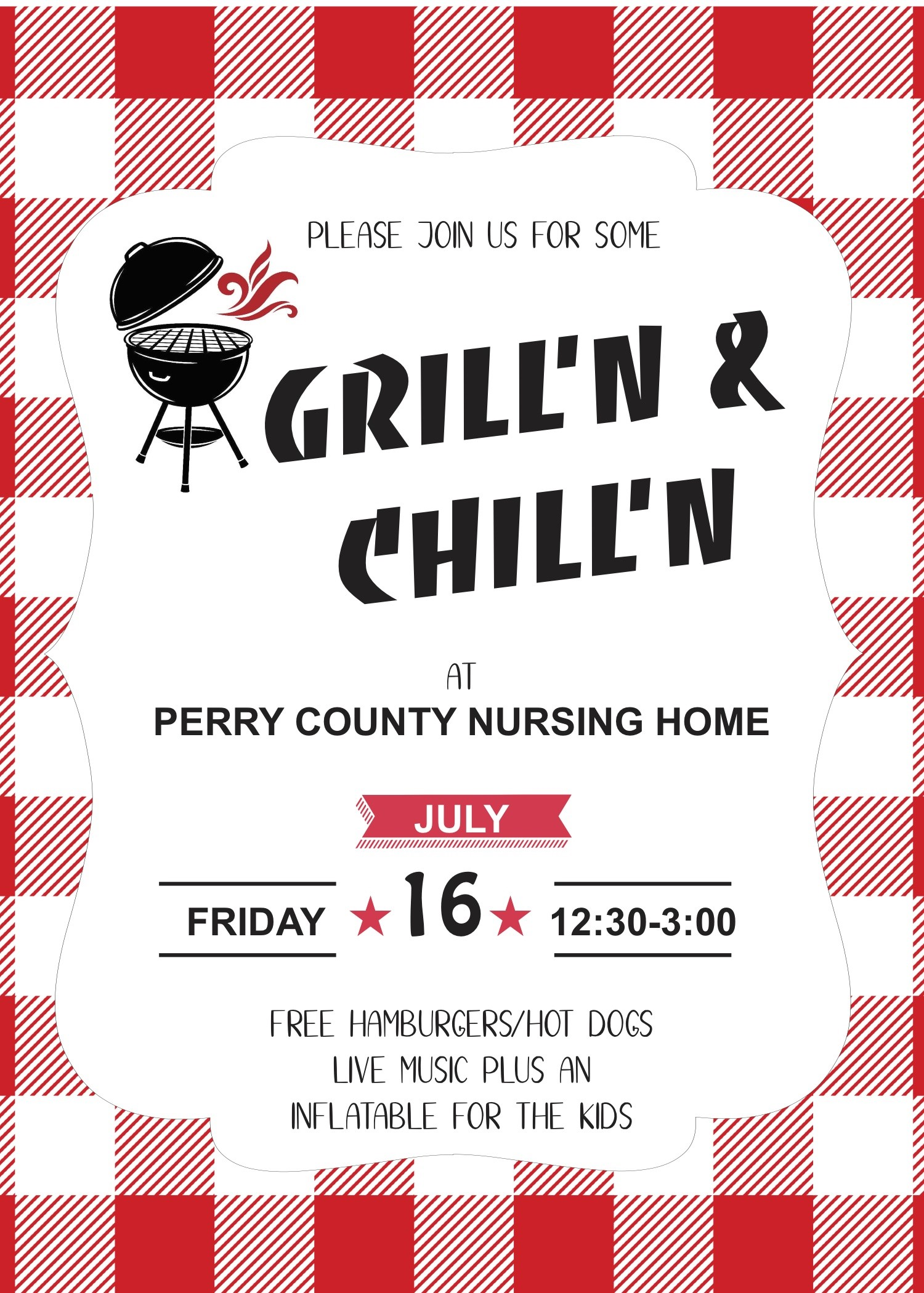 Grill n Chill July 16