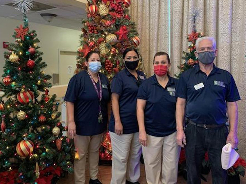 Our Housekeepers who proudly assist us in the community.