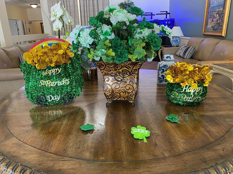 Glen Terra St Patricks Day celebration