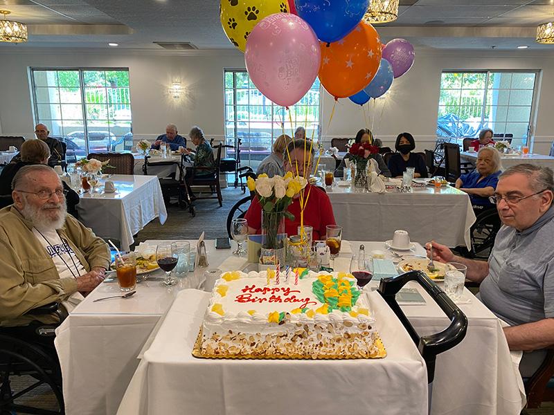 Celebrating Resident birthdays