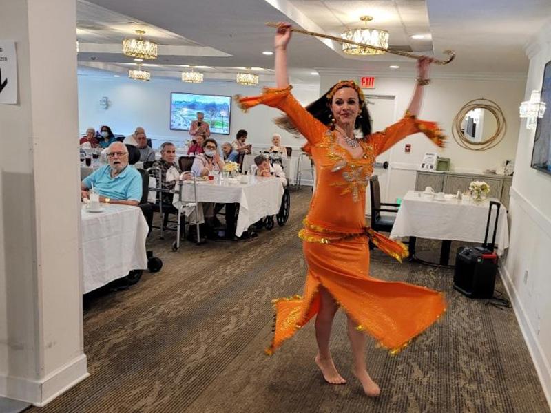 Glen Terra activity dancer