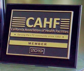 CAHF plaque