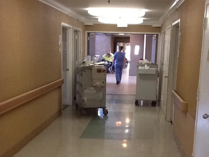 Riviera Healthcare hallway