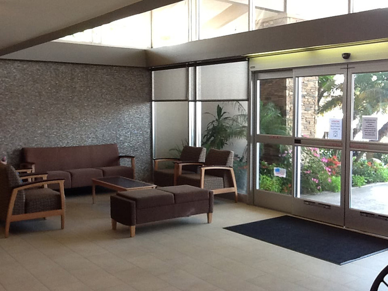 Riviera Healthcare front lobby