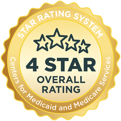 4 star award overall rating for medicare and medicaid services