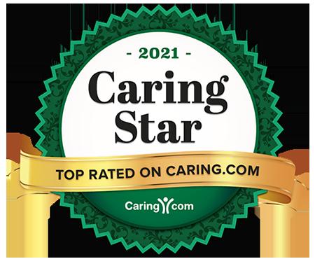 2021 Caring Star award