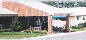 Calvert Manor Healthcare Center entrance