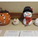 Hand crafted pumpkins created by the residents