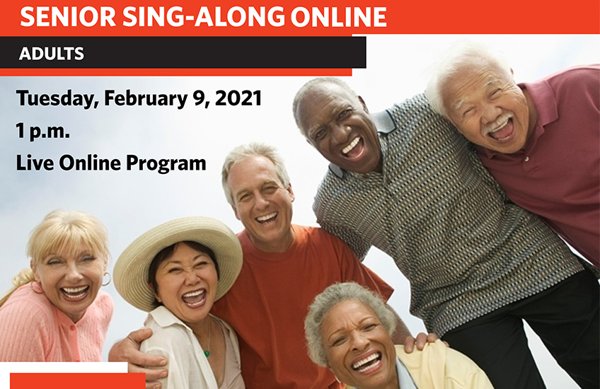 senior sing a long