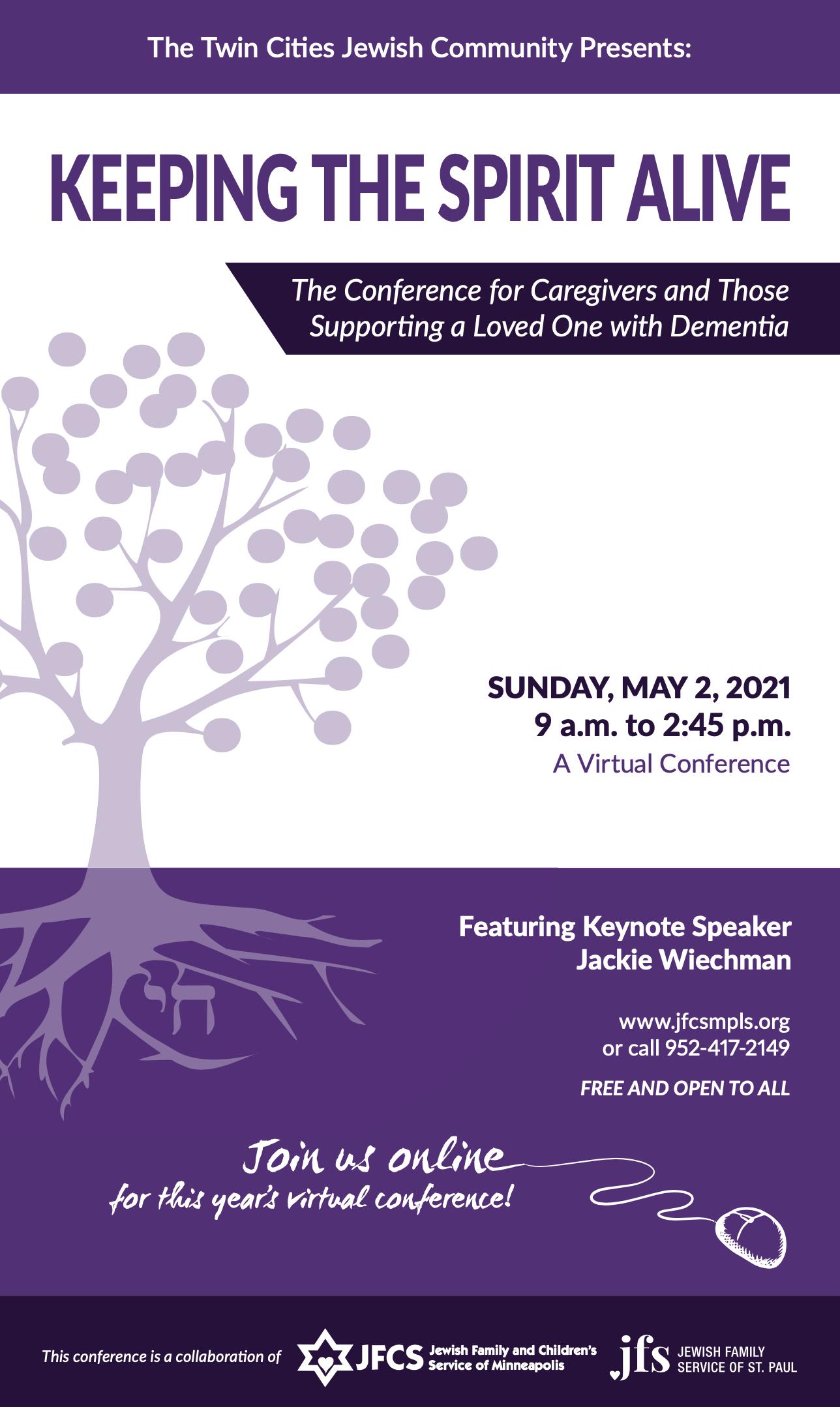 Keeping the Spirit Alive Caregiver conference