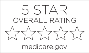 5 star overall medicare rating button